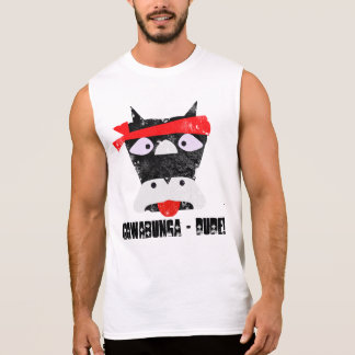 Cowabunga Dude Grunge Sleeveless Shirt