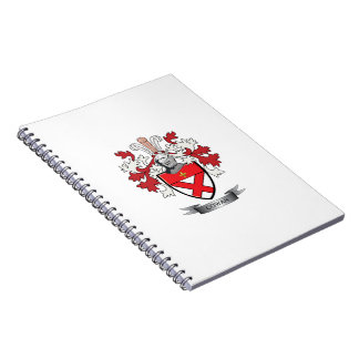 Cowan Family Crest Coat of Arms Notebook