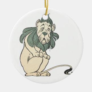 Cowardly Lion, Wizard of Oz Ceramic Ornament