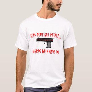 COWARDS USE GUNS, GUNS DONT KILL PEOPLE..., COW... T-Shirt