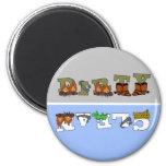 Cowboy2 Clean/Dirty Dishwasher Magnet