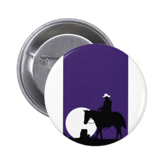 cowboy 2 inch round button
