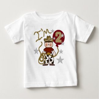 Cowboy 2nd Birthday Baby T-Shirt