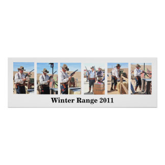 Cowboy Action Shooting Competition Poster Template