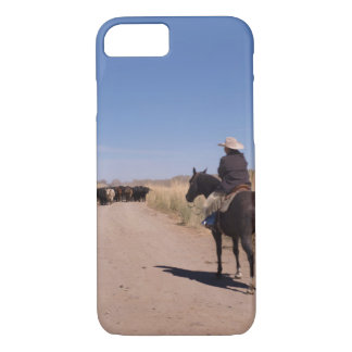 Cowboy Afternoon Canvas Print iPhone 7 Case