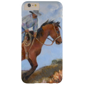 Cowboy and horse barely there iPhone 6 plus case