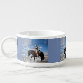 Cowboy And Horse Bowl