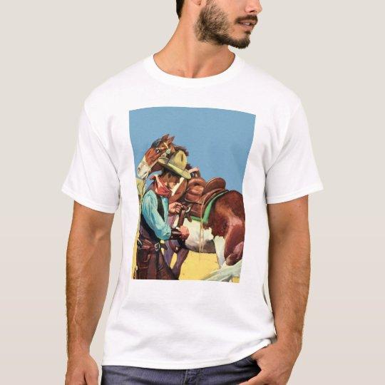 Cowboy and Saddle T-Shirt