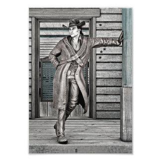 Cowboy Art Photo