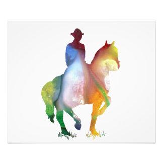 Cowboy art photograph