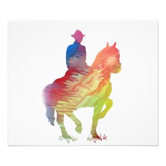 Cowboy art photographic print