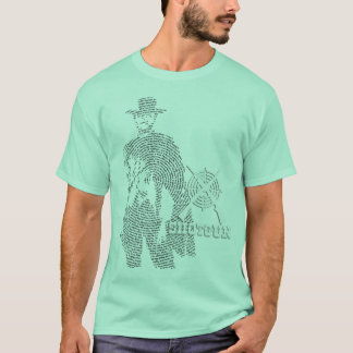 Cowboy Art Word T-Shirt