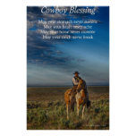 Cowboy Blessing Posters