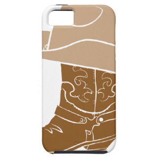 Cowboy Boot And Hat Case For The iPhone 5