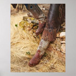 Cowboy boots 2 poster
