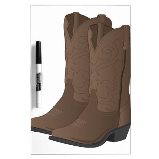 Cowboy Boots Dry-Erase Whiteboards