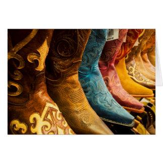 Cowboy boots for sale, Arizona Card