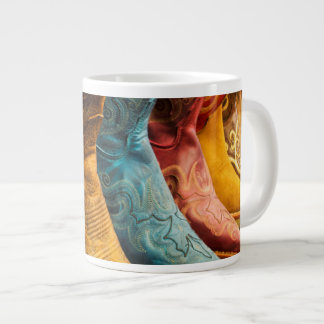 Cowboy boots for sale, Arizona Large Coffee Mug