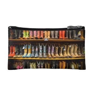 Cowboy Boots Makeup Bag