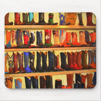Cowboy Boots Mousepad