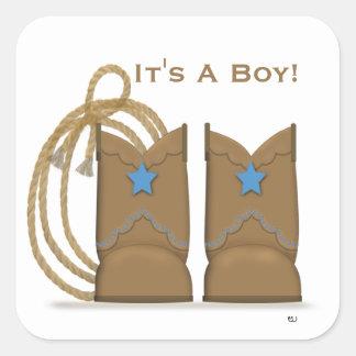 Cowboy Boots Sticker