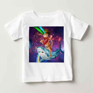 Cowboy cat - orange cat - cat shark baby T-Shirt