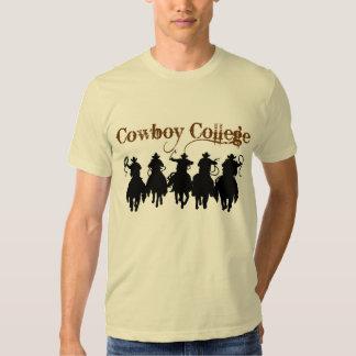 Cowboy College T Shirts