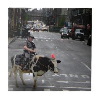 Cowboy Cop Tile