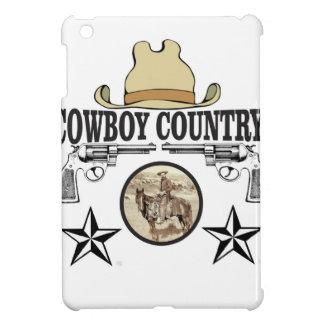 cowboy country rider iPad mini case
