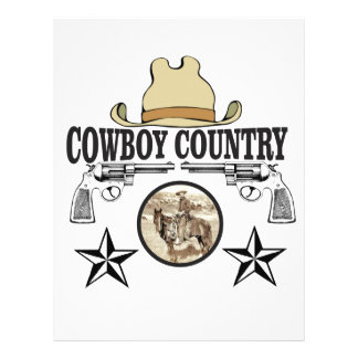 cowboy country rider letterhead