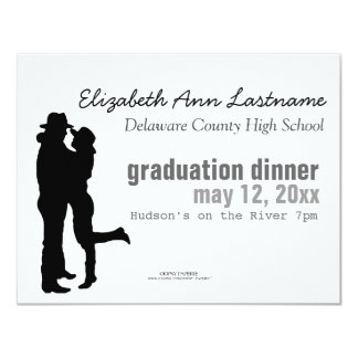 """Cowboy & Cowgirl"" Graduation Announcement"