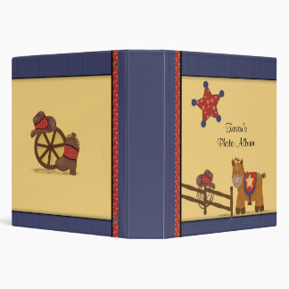 Cowboy & Cowgirl Photo Album Vinyl Binders