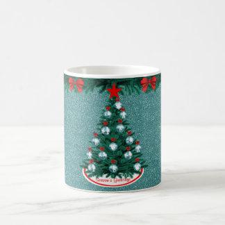 Cowboy Cowgirl Roping Christmas Tree Ornament Mug