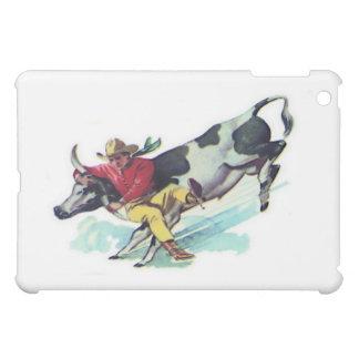 Cowboy de lutte de boeuf étuis iPad mini