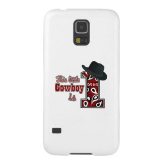 Cowboy First Birthday Galaxy S5 Cover