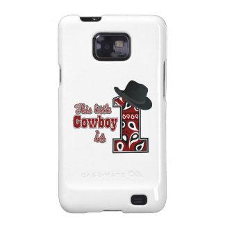 Cowboy First Birthday Galaxy SII Case