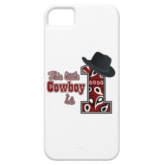 Cowboy First Birthday iPhone 5 Cases