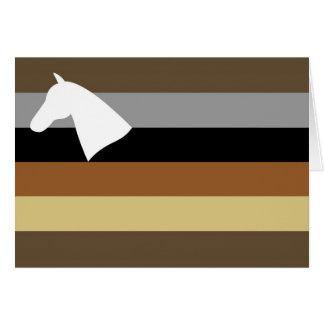 Cowboy Flag Card