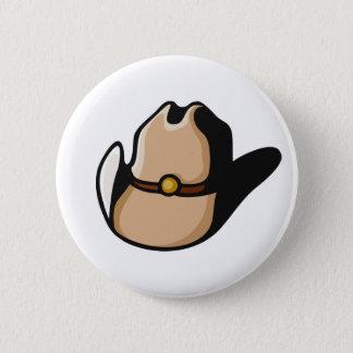Cowboy Hat 2 Inch Round Button