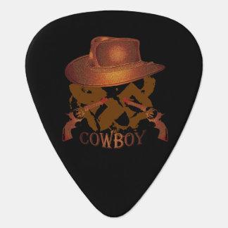Cowboy Hat Brown Guitar Pick