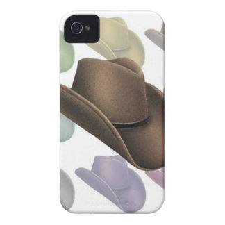 Cowboy Hat Collage iPhone 4 Case-Mate Cases