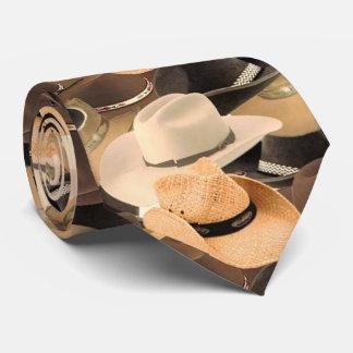cowboy hat tie
