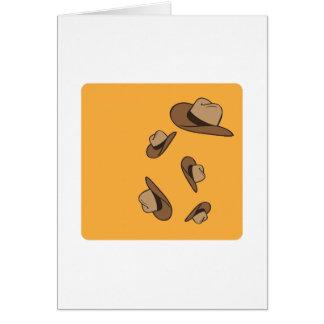 Cowboy Hats Cards