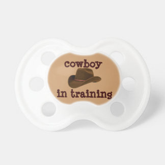 Cowboy in Training Pacifier