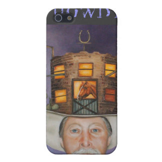 cowboy Karl iPhone 5 Cover