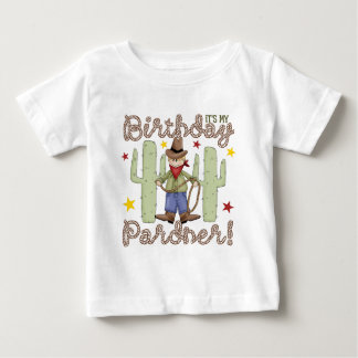 Cowboy Kids Birthday Baby T-Shirt