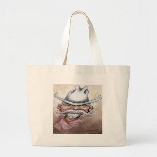 Cowboy Large Tote Bag