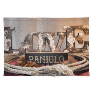 Cowboy Love Placemat