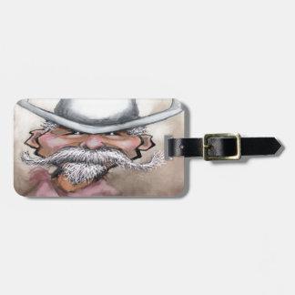 Cowboy Luggage Tag