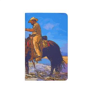 Cowboy Mounted Journal
